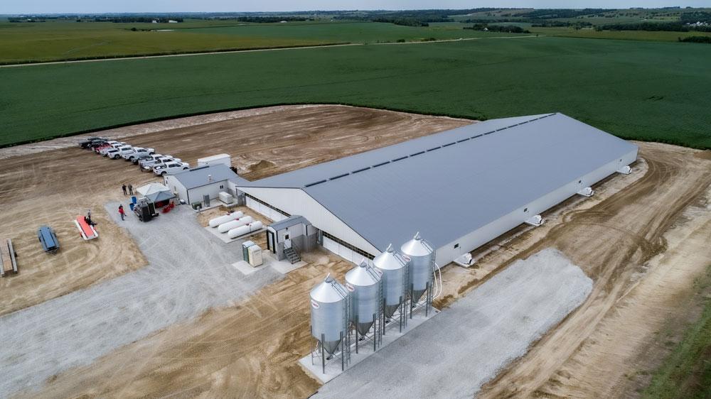 Nebraska swine facility